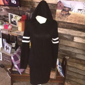 Rue 21 hooded sweater dress